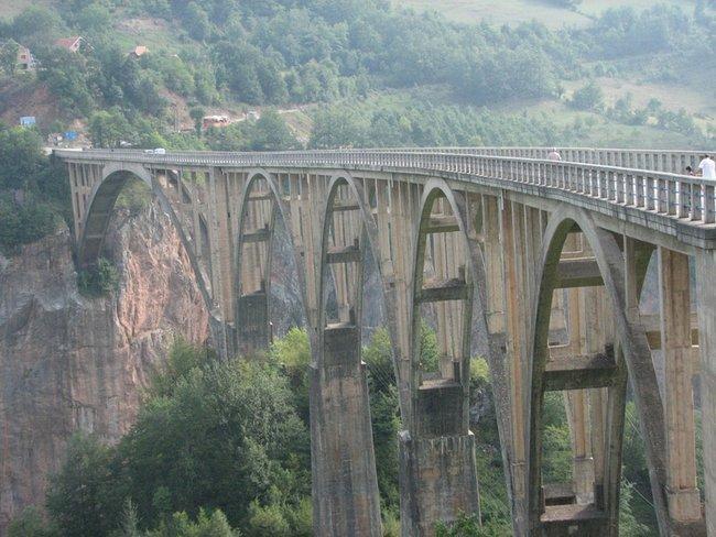 Черногория, мост на р. Тари