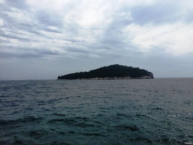 Остров Локрум. Вид из Дубровника