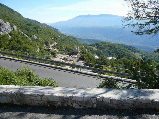 Острог. Панорама долины