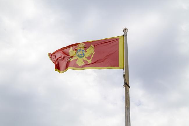 Флаг Черногории!