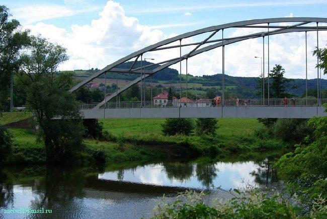Мост через Бероунку в Карлштейне (фото 10)