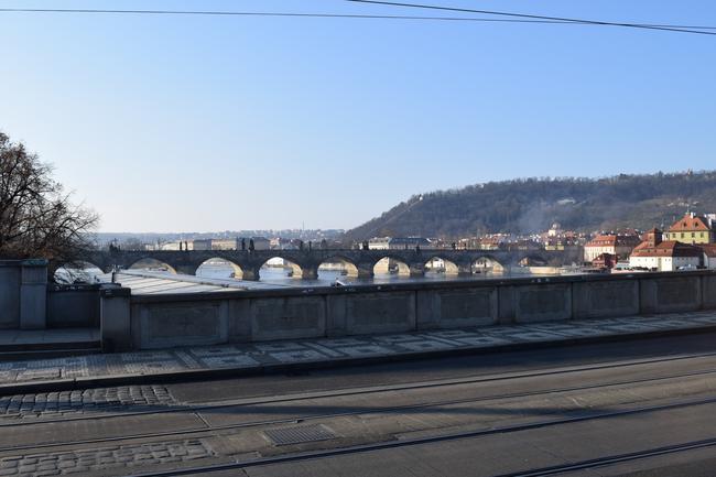 Вдали - Карлов мост