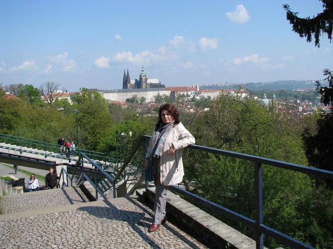 Прага. Холм Петршин.