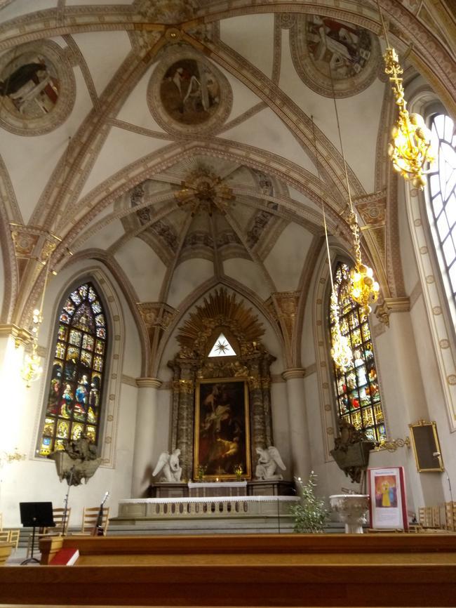Церковь Clara Kyrka