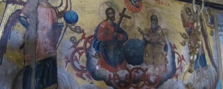 Икона в Басарбовском монастыре