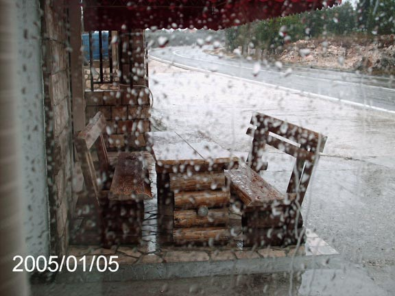 Зима...дожди...
