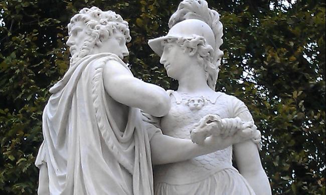 Вена. Скульптура в Шёнбрунне.