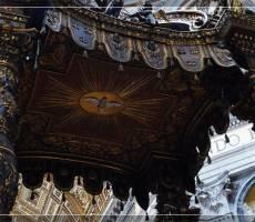 Собор Святого Петра. Балдахин работы Бернини