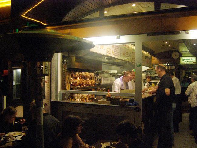 В ночном Altstadt
