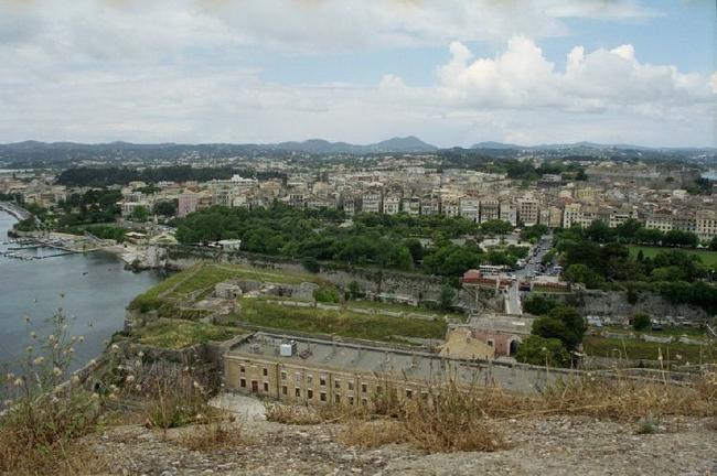 Керкира. Вид со старой крепости