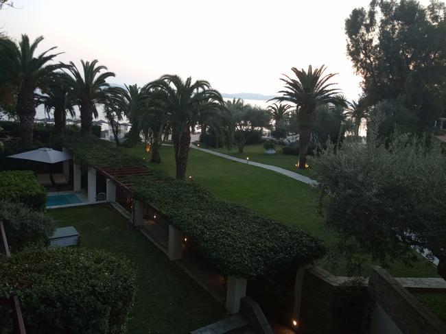 вечер с балкона