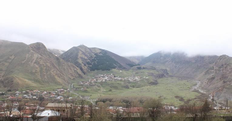 Поселок Степанцминда