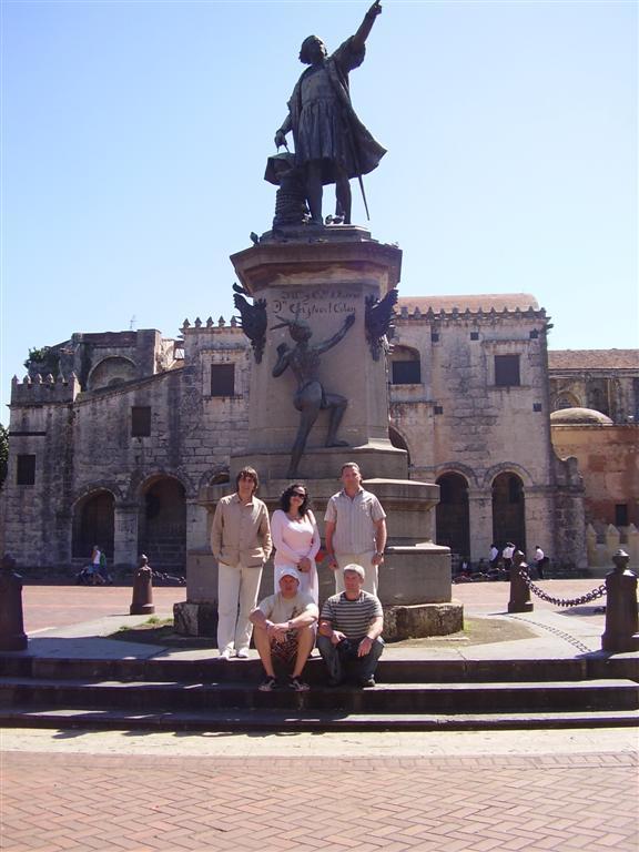 Санто-Доминго. Памятник Колумбу