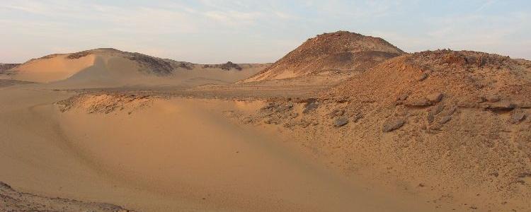 Пустыня возле монастыря св. Симеона