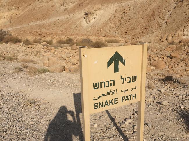 Змеиная тропа на Массаду