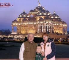 Храмовый комплекс Акшардхам в Дели.