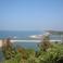 Вид на пляж Парадайз со стен Реди форта