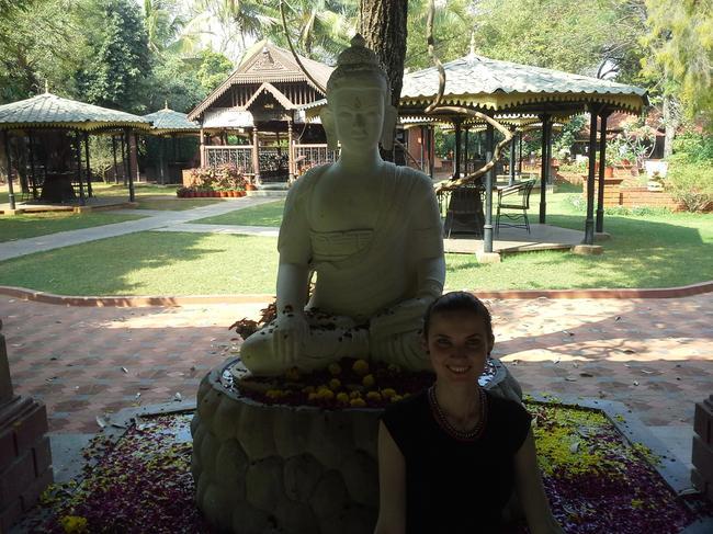 Будда в парке