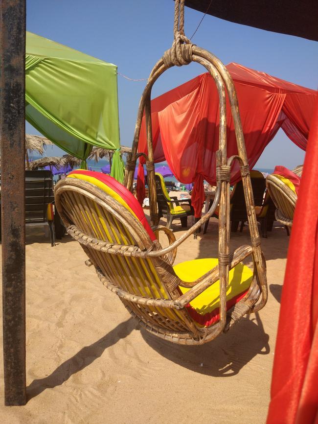 Шек на пляже Калангут