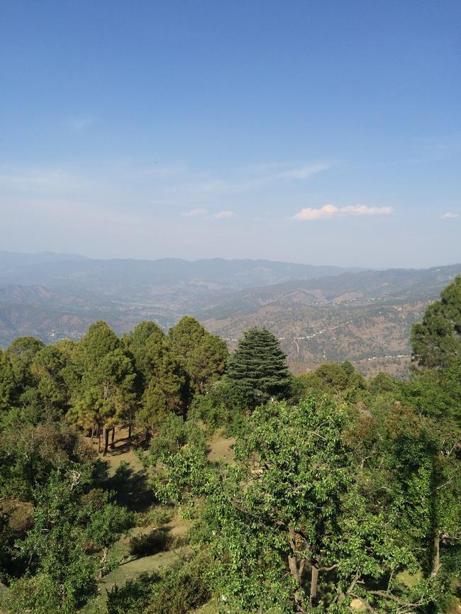 Вид из Клиники Бабаджи