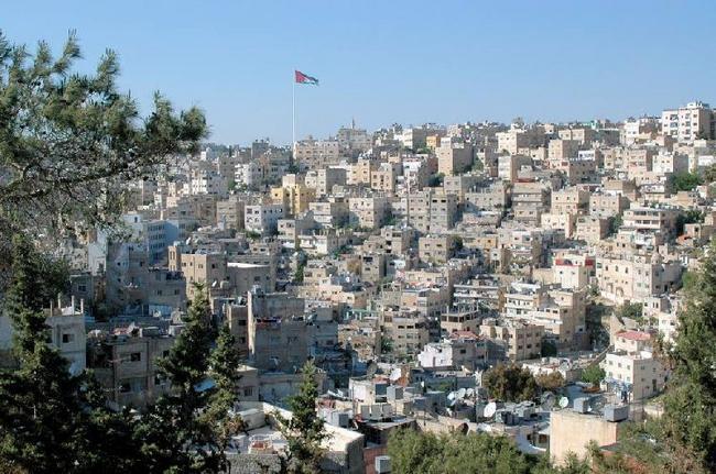 Амман. Вид с Крепостной горы.