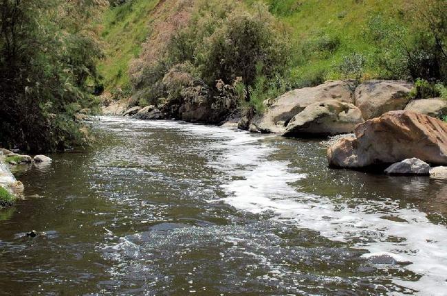 Река Джераш.