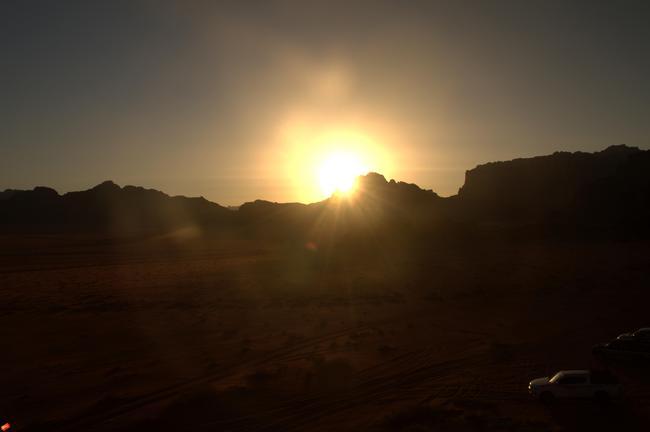 Закат Иордания