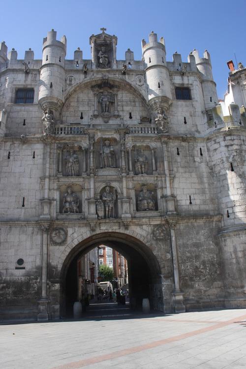 Бургос. Городские ворота.