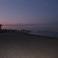 почти ночной пляж