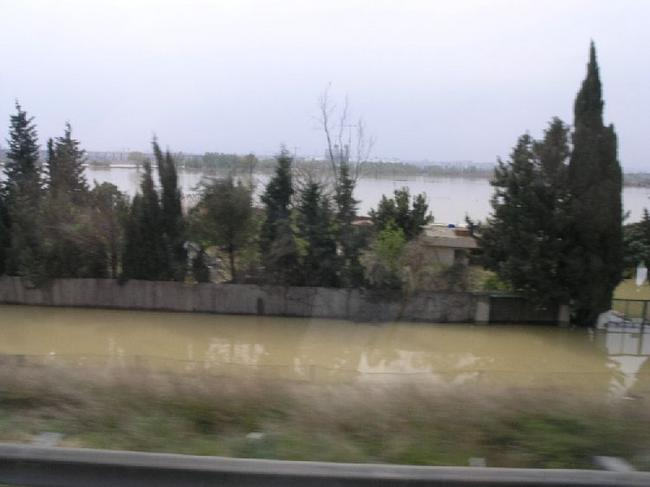 Сарагоса Наводнение