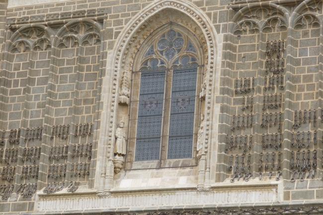 Толедо. Кандалы християн, освобожденных из арабской неволи