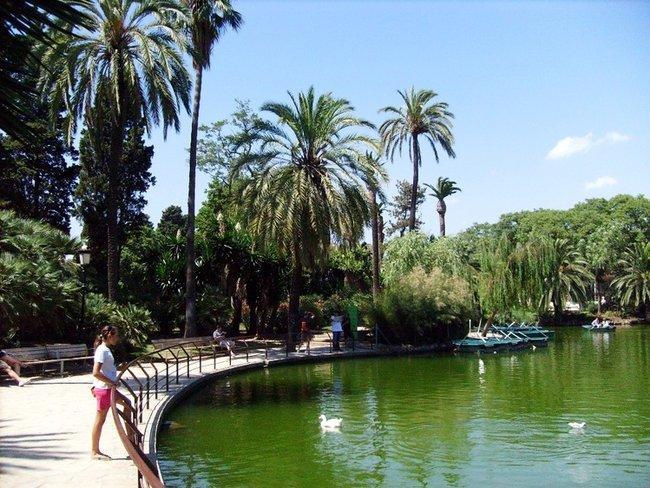 Барселона. Парк Цитадель