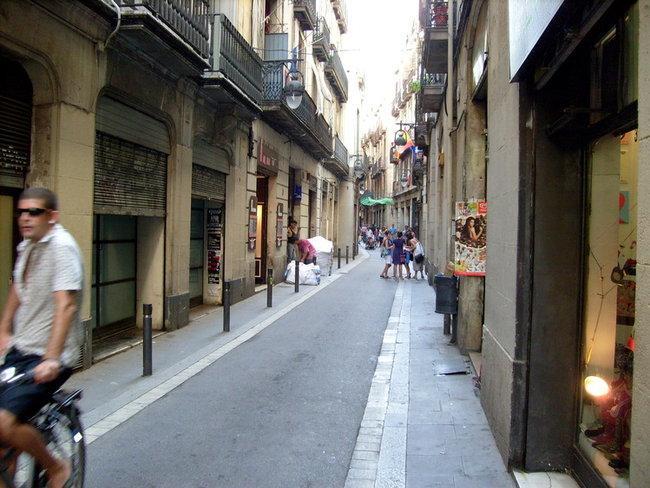 Барселона. Улица Ампле