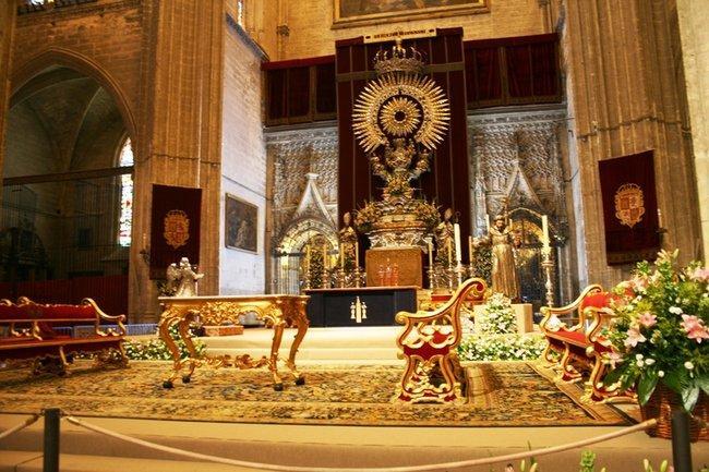 Севилья. Кафедральный собор Санта-Мария. Дароносица