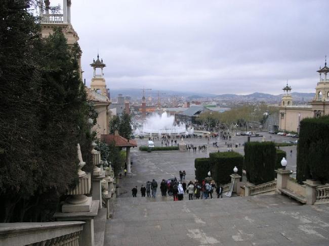 Барселона Шоу фонтанов началось