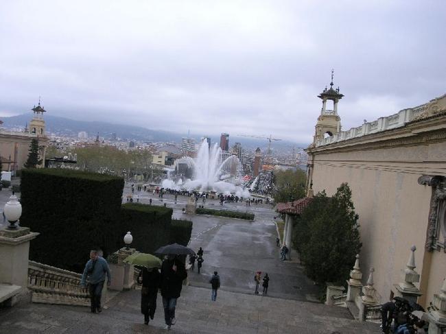 Барселона Шоу фонтанов во всей красе