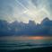 Закат на Тирренском море