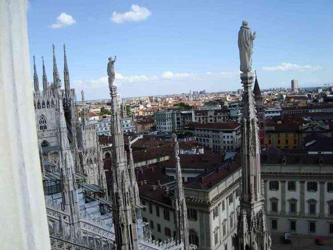 Duomo. На крыше. Фото 4