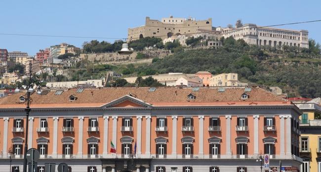 Неаполь. Замок Sant`Elmo