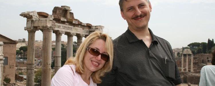 Мы на Римских форумах