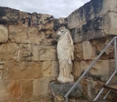 Древний город Саламин Северный Кипр