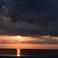 Рассвет на пляже в Ларнаке