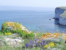 Весной на море