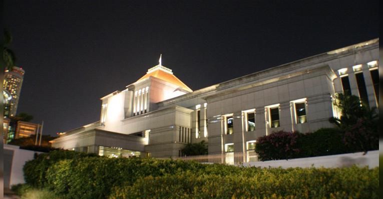 Здание сингапурского парламента