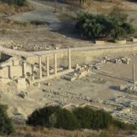 Руины античного города Аматус