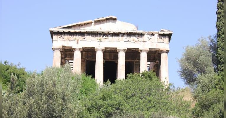 Наиболее уцелевший Храм Гефеста