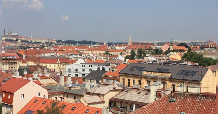 Рыжие крыши Праги