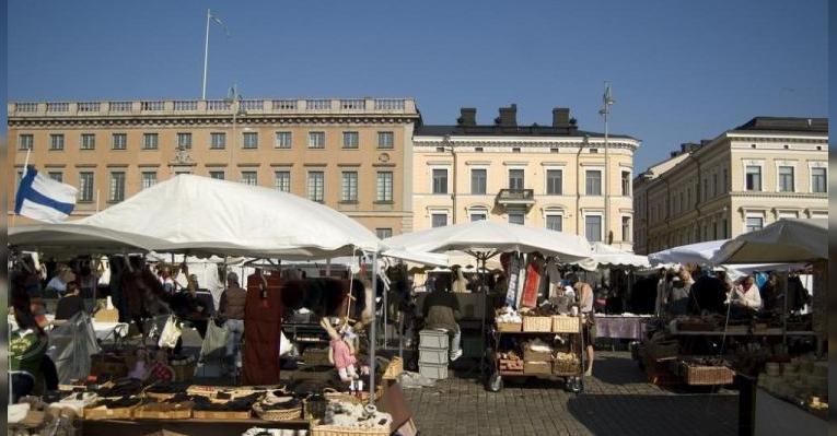 Рыночная площадь Кауппатори