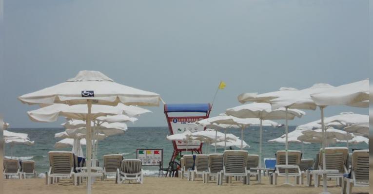 Один из пляжей Солнечного берега
