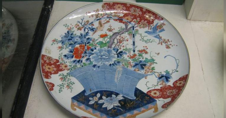 На выставке китайского фарфора